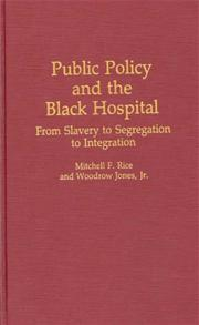 Public Policy and the Black Hospital cover image