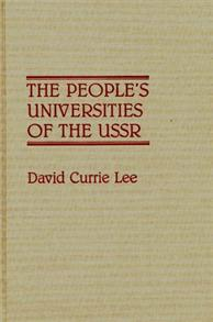 The People's Universities of the USSR cover image