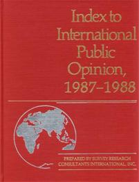 Index to International Public Opinion, 1987-1988 cover image