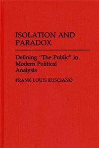 Isolation and Paradox cover image