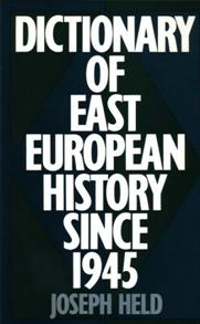 Dictionary of East European History Since 1945 cover image