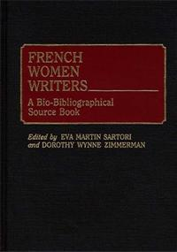 Cover image for French Women Writers
