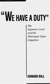 We Have a Duty cover image