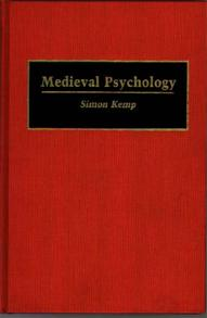 Medieval Psychology cover image