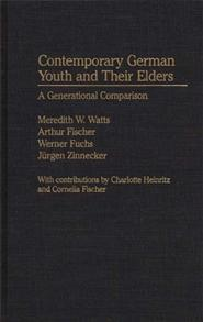 Contemporary German Youth and Their Elders cover image