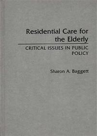 Residential Care for the Elderly cover image