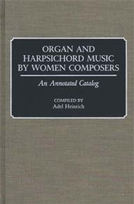 Cover image for Organ and Harpsichord Music by Women Composers