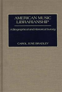 American Music Librarianship cover image