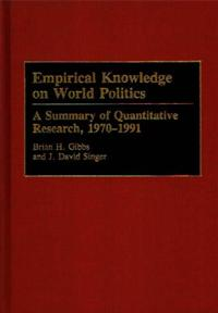 Empirical Knowledge on World Politics cover image