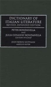 Dictionary of Italian Literature cover image