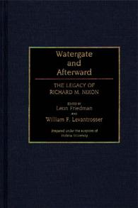 Watergate and Afterward cover image