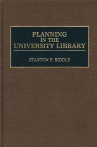 Planning in the University Library cover image