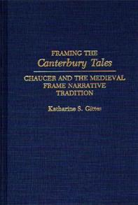 Framing the Canterbury Tales cover image