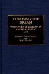 Choosing the Dream cover image