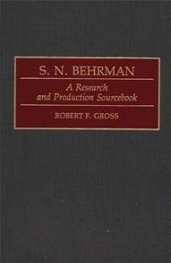 S. N. Behrman cover image