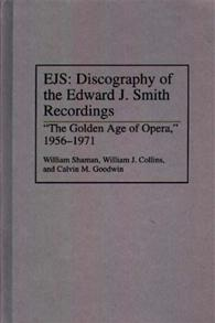 EJS: Discography of the Edward J. Smith Recordings cover image