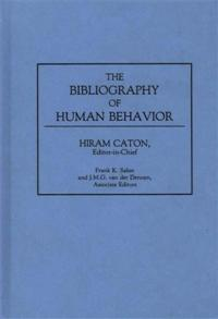 The Bibliography of Human Behavior cover image