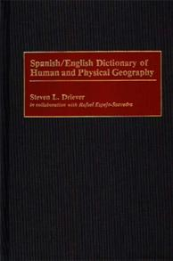Spanish/English Dictionary of Human and Physical Geography cover image