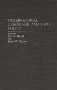 Gubernatorial Leadership and State Policy cover image