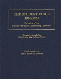The Student Voice, 1960-1965 cover image