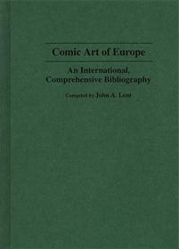 Comic Art of Europe cover image
