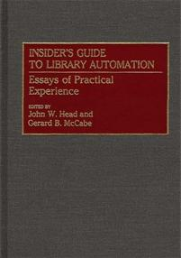 Insider's Guide to Library Automation cover image