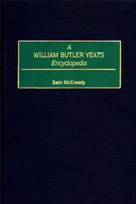 A William Butler Yeats Encyclopedia cover image