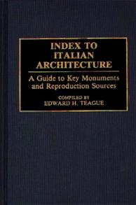 Index to Italian Architecture cover image