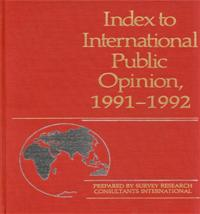 Index to International Public Opinion, 1991-1992 cover image