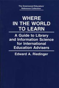 Where in the World to Learn cover image
