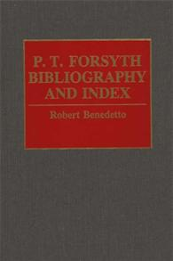 P.T. Forsyth Bibliography and Index cover image