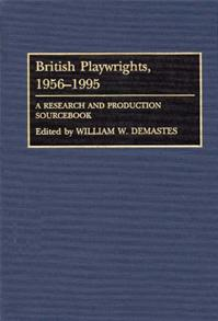 British Playwrights, 1956-1995 cover image