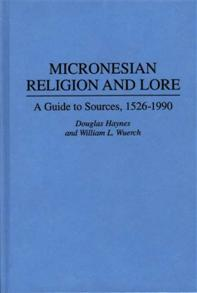 Micronesian Religion and Lore cover image