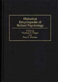 Historical Encyclopedia of School Psychology cover image