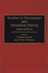 Cover image for Studies in Newspaper and Periodical History, 1994 Annual