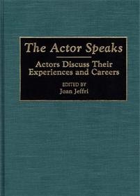 The Actor Speaks cover image