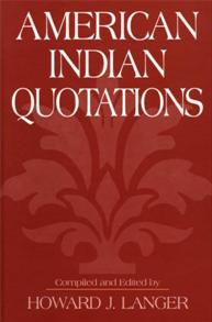 American Indian Quotations cover image