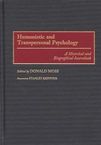 Humanistic and Transpersonal Psychology cover image
