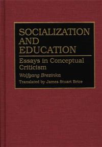 Socialization and Education cover image