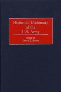 Historical Dictionary of the U.S. Army cover image