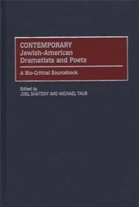 Contemporary Jewish-American Dramatists and Poets cover image