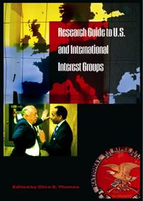 Research Guide to U.S. and International Interest Groups cover image