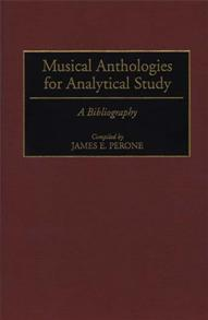 Musical Anthologies for Analytical Study cover image