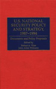 U.S. National Security Policy and Strategy, 1987-1994 cover image