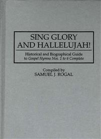 Sing Glory and Hallelujah! cover image
