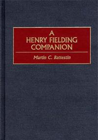 A Henry Fielding Companion cover image