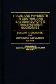 Trade and Payments in Central and Eastern Europe's Transforming Economies cover image