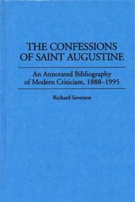 The Confessions of Saint Augustine cover image