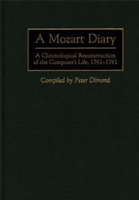 A Mozart Diary cover image