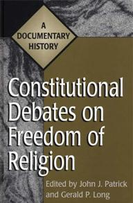 Constitutional Debates on Freedom of Religion cover image